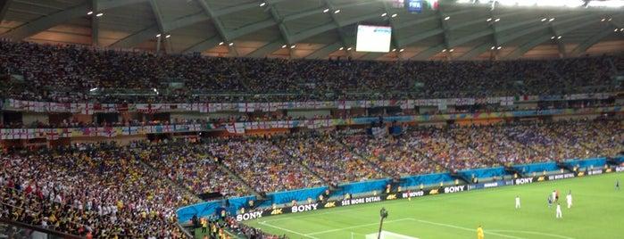 Arena da Amazônia is one of 2014 FIFA World Cup Stadiums @Brazil!.