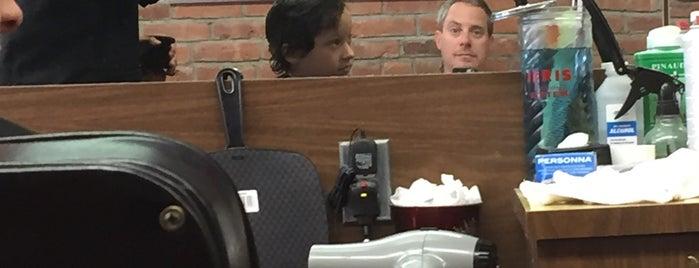 D & V Barbershop is one of Abhi : понравившиеся места.