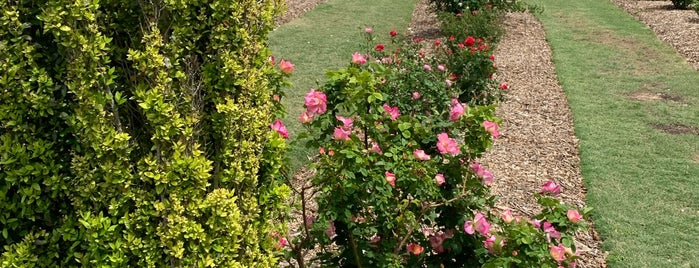 The Rose Gardens of Farmers Branch is one of Parks Ranches and nature trails.