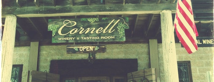 Cornell Winery & Tasting Room is one of Cali Wine.