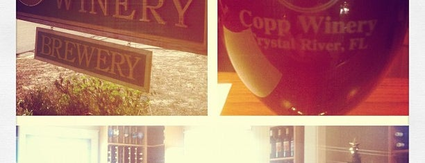 Copp Winery is one of restaurants.