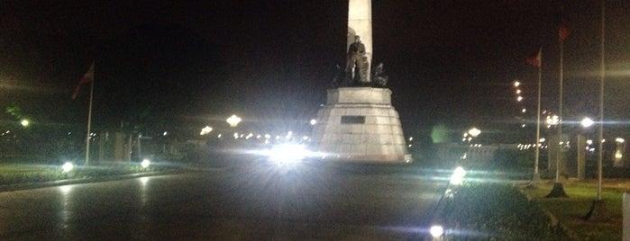 Jose Rizal Momument is one of Filipinler-Manila ve Palawan Gezilecek Yerler.