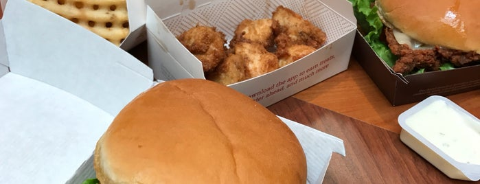 Chick-fil-A is one of Lugares favoritos de Jimmy.