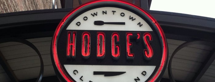 Hodge's is one of Taste of Cleveland To Do List.