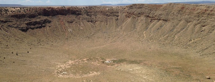 Meteor Crater is one of Far Far Away.