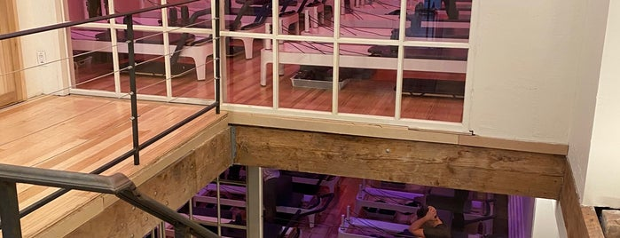 New York Pilates - West Village is one of diane : понравившиеся места.