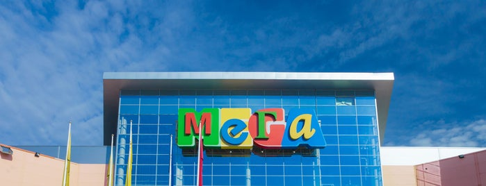 MEGA Mall is one of Lugares favoritos de Vladimir.