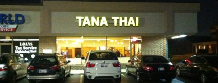 Tana Thai Bistro is one of Okc.