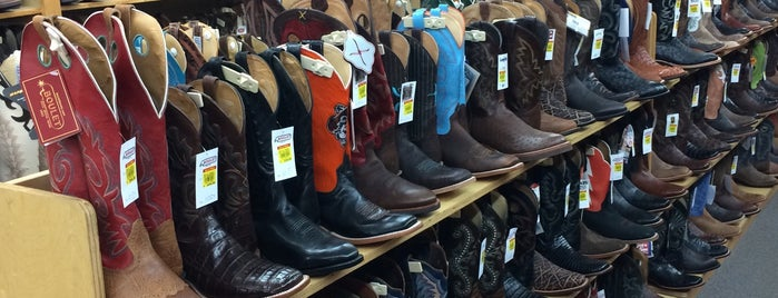Langston's Western Wear is one of Oklahoma City.