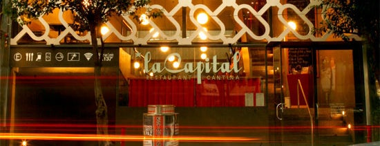La Capital is one of Restaurantes y cafés en La Condesa.