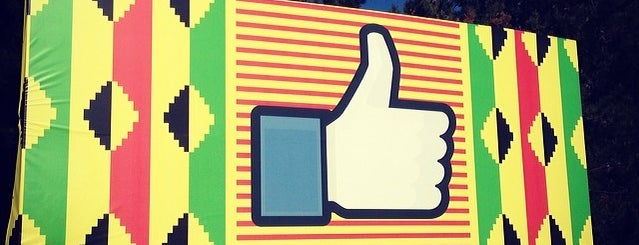 Facebook Sign is one of SILICON VALLEY.