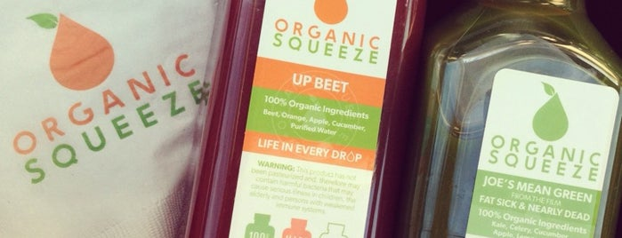 Organic Squeeze is one of Ashley 님이 좋아한 장소.