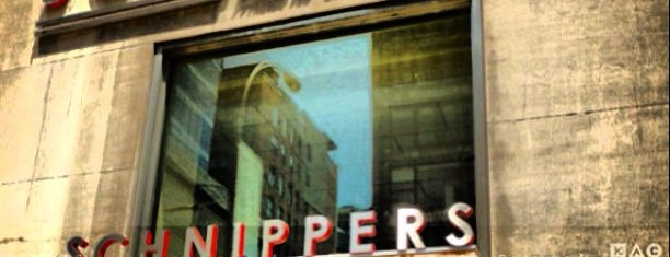 Schnipper's Quality Kitchen is one of work food.