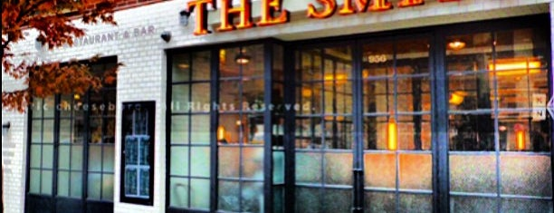 The Smith is one of NYC - American, Pizza, Bar Food.
