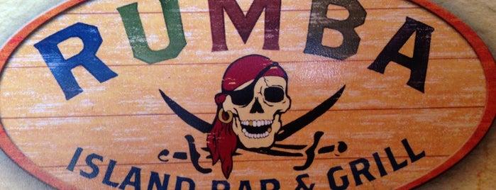 Rumba Island Bar & Grill is one of Orte, die Brett gefallen.