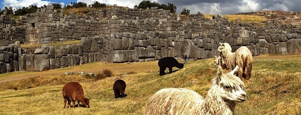 Sacsayhuamán is one of Lugares guardados de Fabio.