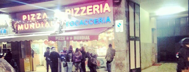 Pizza Mundial is one of Milano food.