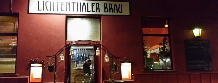 Lichtenthaler Bräu is one of Vienna.