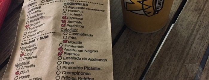 Which Wich? is one of Mexico con Coldplay.