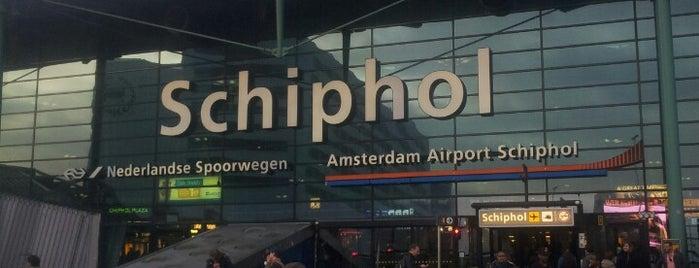Aeroporto de Amesterdão Schiphol (AMS) is one of Netherlands.