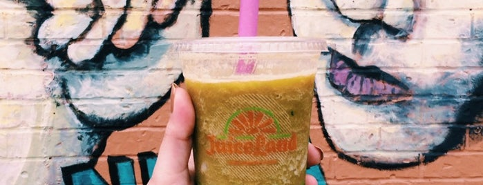 Juiceland is one of Give 5% To Mother Earth - Austin.