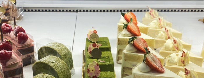 WA Japanese Patisserie is one of London.