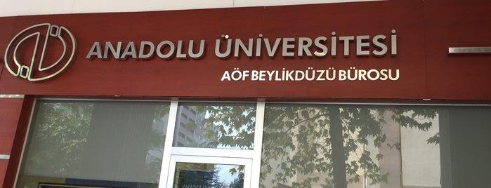 Beylikdüzü Açıköğretim Bürosu is one of Tempat yang Disukai Yusuf.