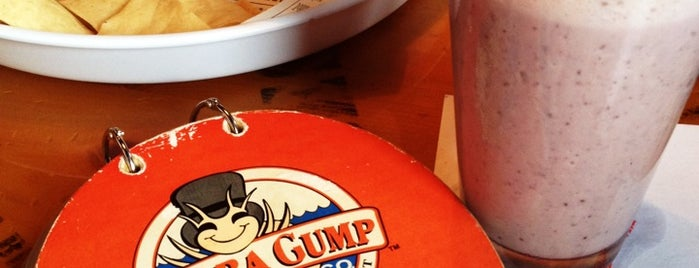 Bubba Gump Shrimp Co. is one of Mexico.