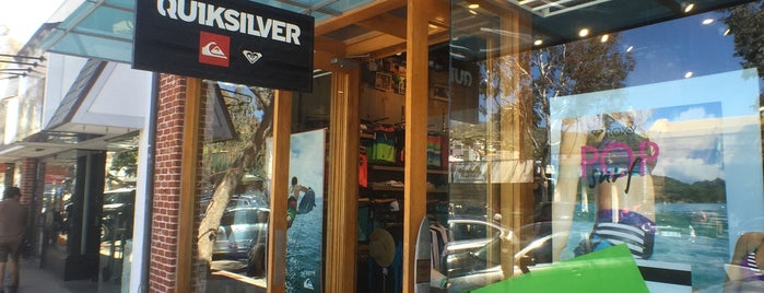 Quiksilver is one of Shopping.