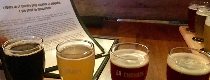 Microbrasserie La Chouape is one of Microbrasseries Québec.