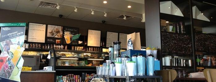 Starbucks is one of Karen : понравившиеся места.