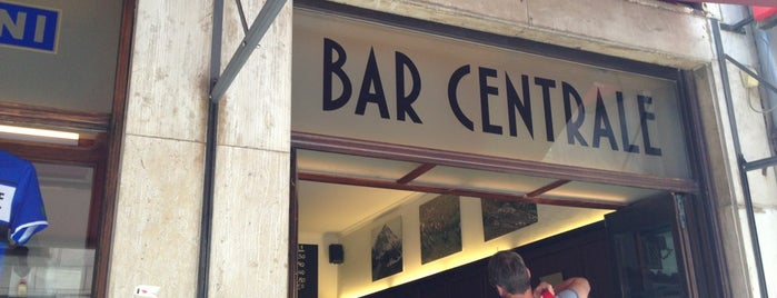 Bar Centrale is one of Minga (prost!).