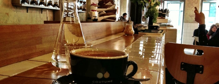 Coutume Café is one of CoffeeGuide..