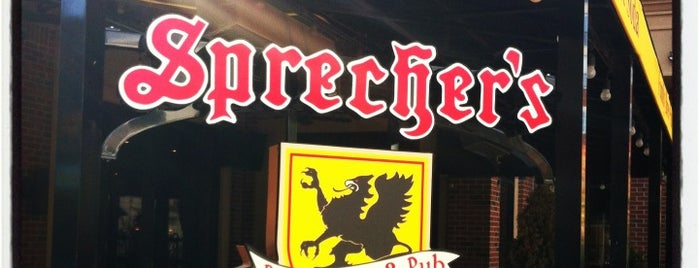 Sprecher's Restaurant & Pub is one of Gwen 님이 좋아한 장소.