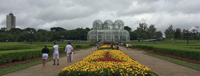Jardim Botânico is one of Escola de Ciências Agrárias e Medicina Veterinária.