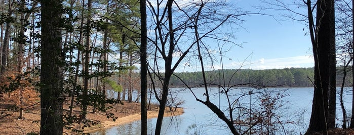 Jordan Lake - New Hope Overlook is one of Pavlos list.