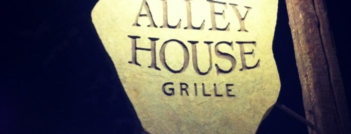 Alley House Grille is one of Lieux sauvegardés par Cecilia.