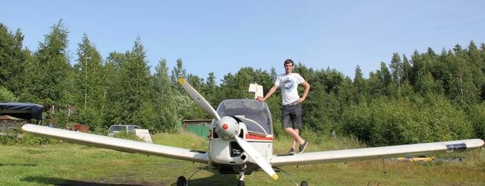 Аэродром «Бычье поле» is one of Марияさんのお気に入りスポット.