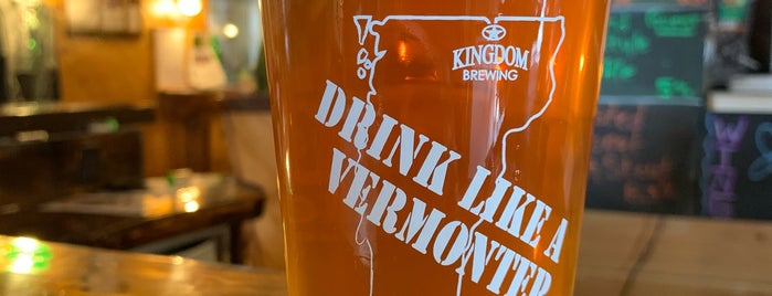Kingdom Brewing is one of New England Breweries.