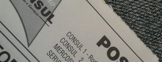 Posto Consul da Joinville (Posto do Otto) is one of Tempat yang Disukai Walkiria.