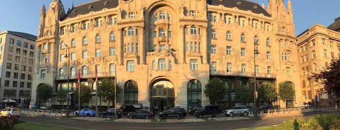Four Seasons Hotel Gresham Palace Budapest is one of Budapest.