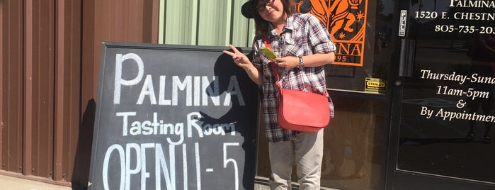 Palmina Wines Tasting Room is one of California.