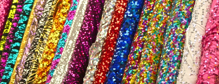 Spandex World Inc is one of Ribbons, Trim, Bead, Fabric.