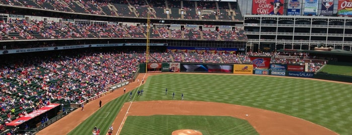 Globe Life Park in Arlington is one of Dallas-Fort Worth.