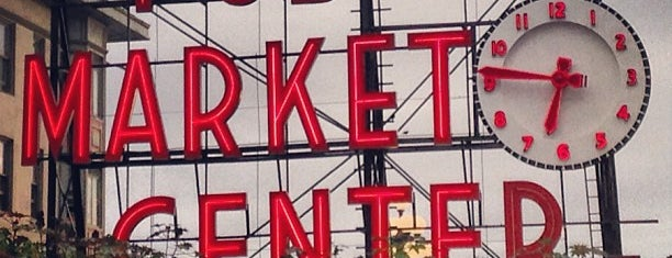 Pike Place Market is one of US Landmarks.