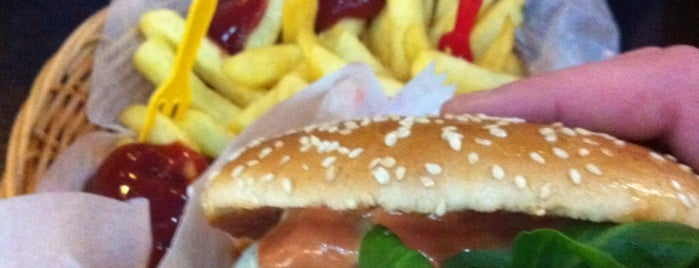 West Burger is one of Berlins Best Burger.