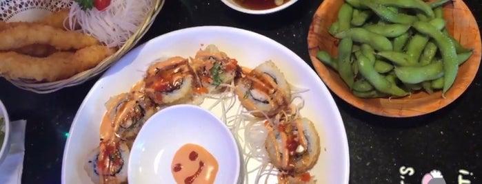 Love Sushi is one of Orte, die Susan gefallen.