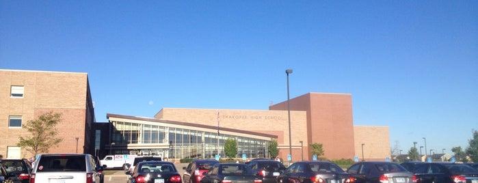 Shakopee High School is one of Twin Cities High Schools.