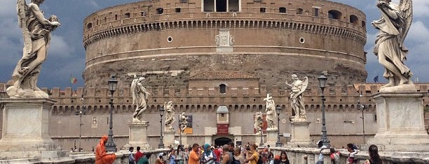 Castel Sant'Angelo is one of Rome 2013.