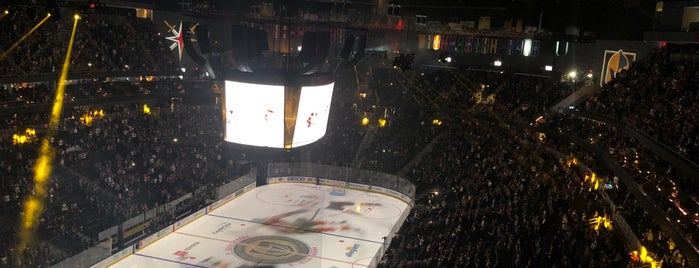 T-Mobile Arena is one of Hockey.